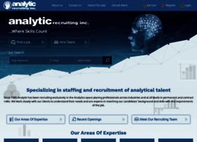 analyticrecruiting.com