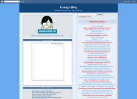 Anangku.blogspot.com