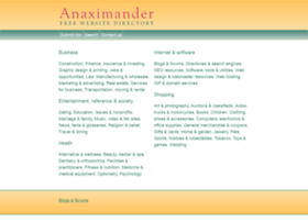 Anaximanderdirectory.com