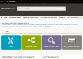 ancestry.custhelp.com