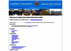 Andhrauniversity.info