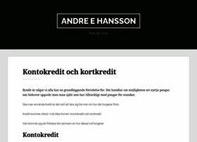 andreehansson.se