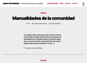 angelesmanualidades.com