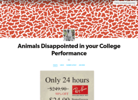 animalsdisappointed.tumblr.com