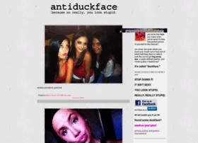 antiduckface.com