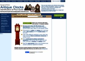 antiqueclockspriceguide.com