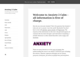 anxiety2calm.com