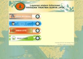 Aplikasi.triatma-mapindo.ac.id