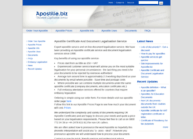 apostille.biz