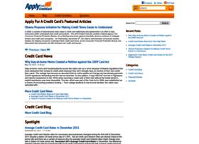 applyforacreditcard.com