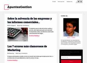 apuntesgestion.com