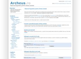 archeus.ro