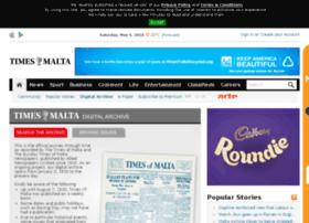 archive.timesofmalta.com
