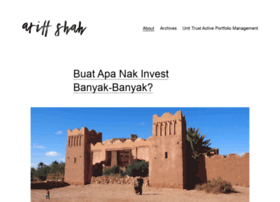 ariffshah.com