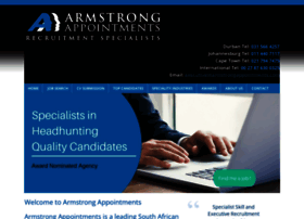armstrongappointments.com