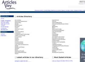 articlesalley.com