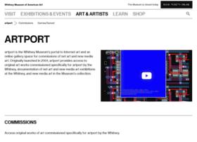 artport.whitney.org
