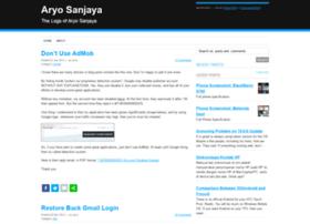 aryosanjaya.net