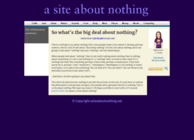 asiteaboutnothing.net
