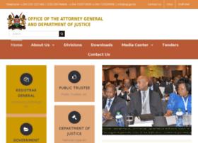 Attorney-general.go.ke