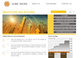 auric.listedcompany.com