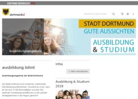 ausbildung.dortmund.de