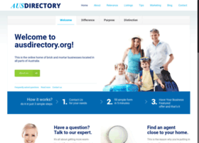 ausdirectory.org