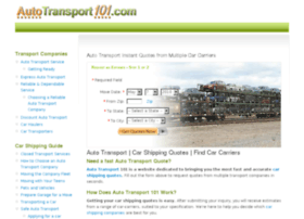 autotransport101.com