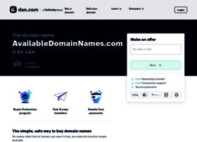 availabledomainnames.com