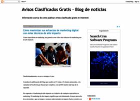 avisos-clasificados-gratis.blogspot.com