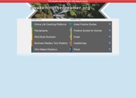 Awakeningthedreamer.org