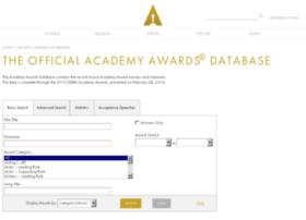 awardsdatabase.oscars.org