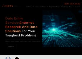 axiondata.com