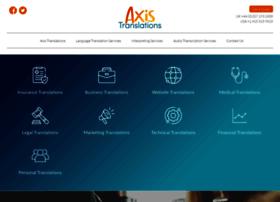 axistranslations.com