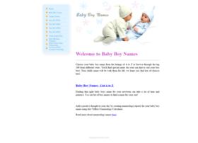 babyboynames4u.com