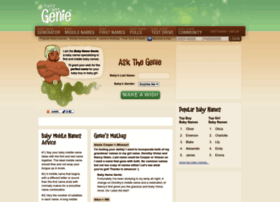 babynamegenie.com