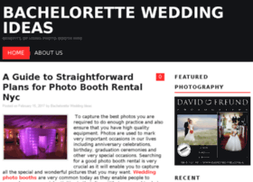 bachelorette-wedding-ideas.com