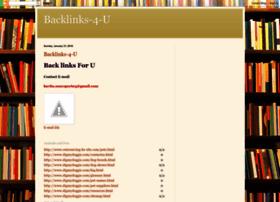 Backlinks-4-u.blogspot.com