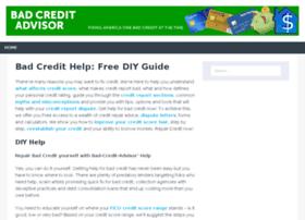 bad-credit-advisor.com