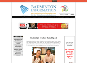 badminton-information.com