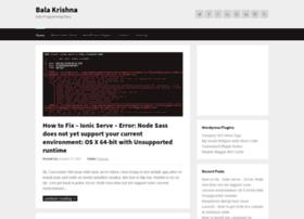 bala-krishna.com