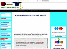 basic-mathematics.com