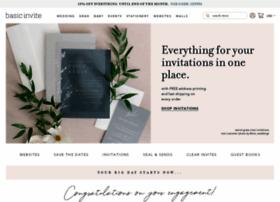basicinvite.com