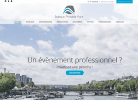 bateaux-privatises-paris.com
