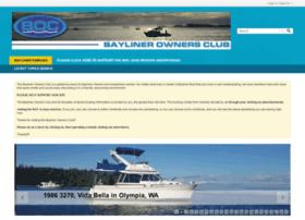 baylinerownersclub.org