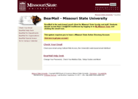 Bearmail.missouristate.edu