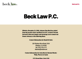 becklaw.net