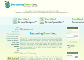 becominggreeninc.com