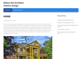 beforethearchitect.com