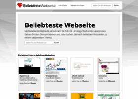 beliebtestewebseite.de
